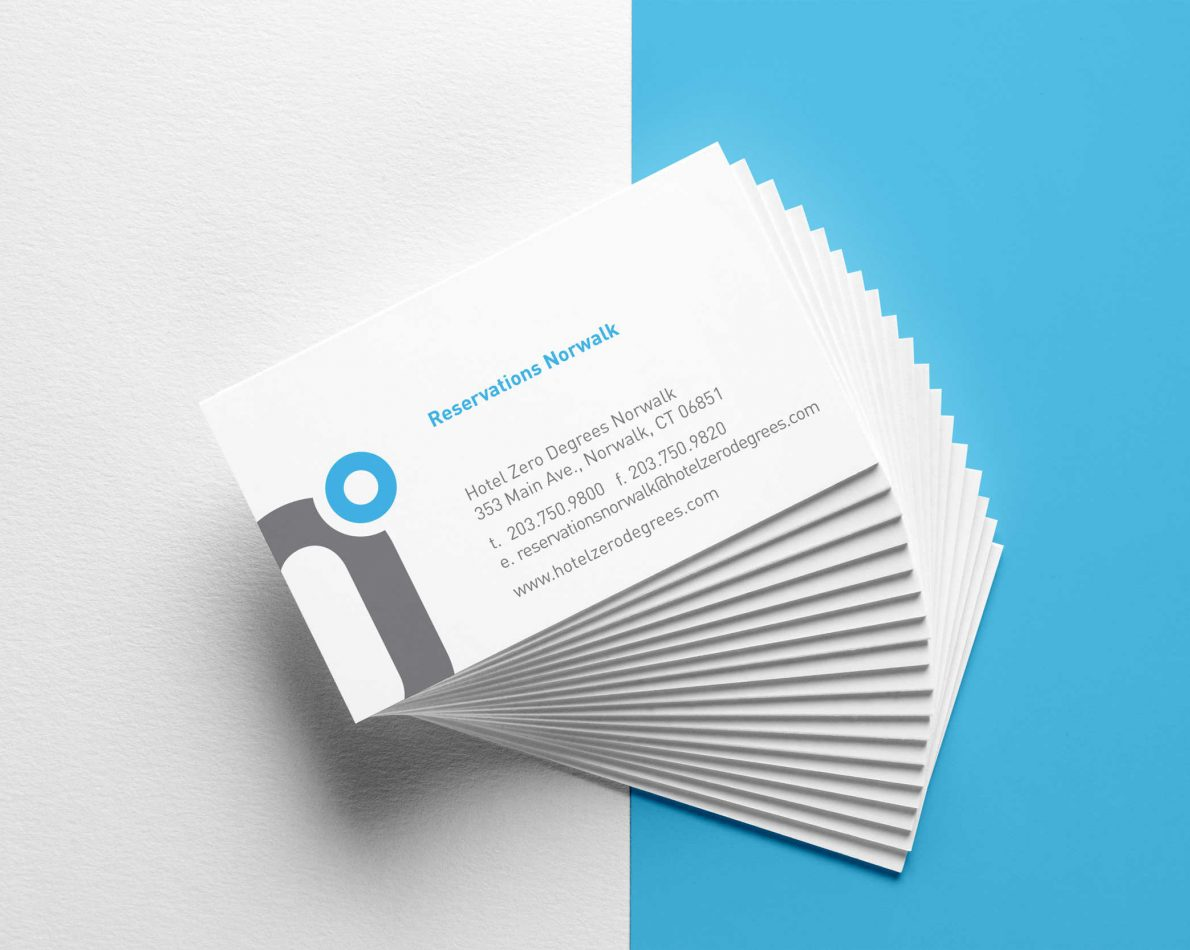 Making a good first impression starts with a business card.