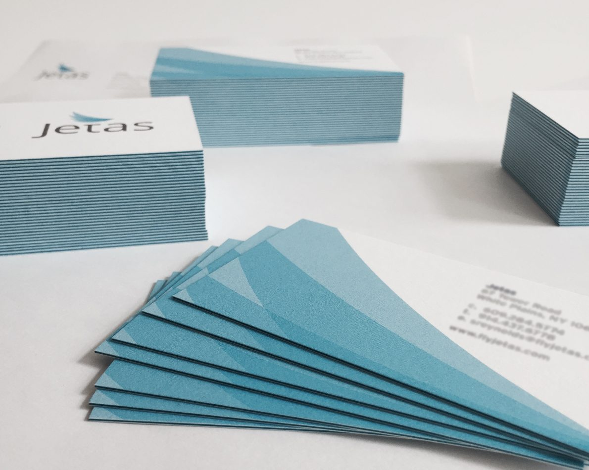 Dynamic business cards for Jetas.